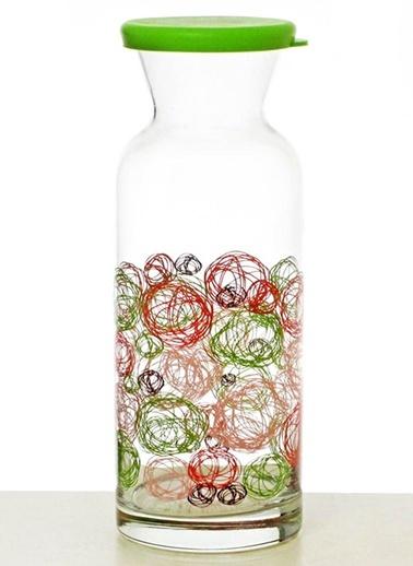 Silikon Kapaklı Yumak Şişe-Joy Glass